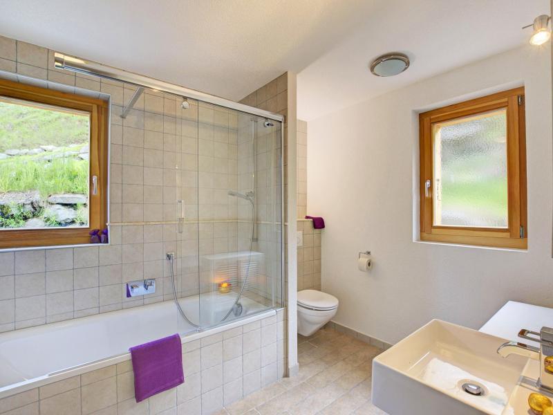 Vacanze in montagna Chalet Bryher - Thyon - Vasca da bagno