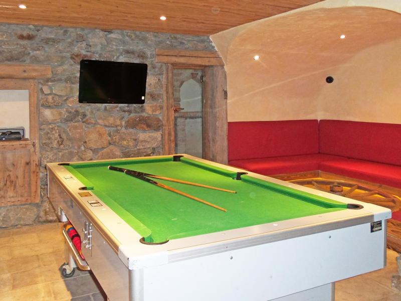 Vacances en montagne Chalet Bucher - Champagny-en-Vanoise - Billard