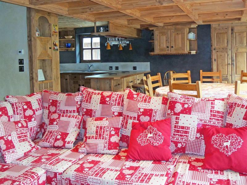 Vacances en montagne Chalet Bucher - Champagny-en-Vanoise - Canapé