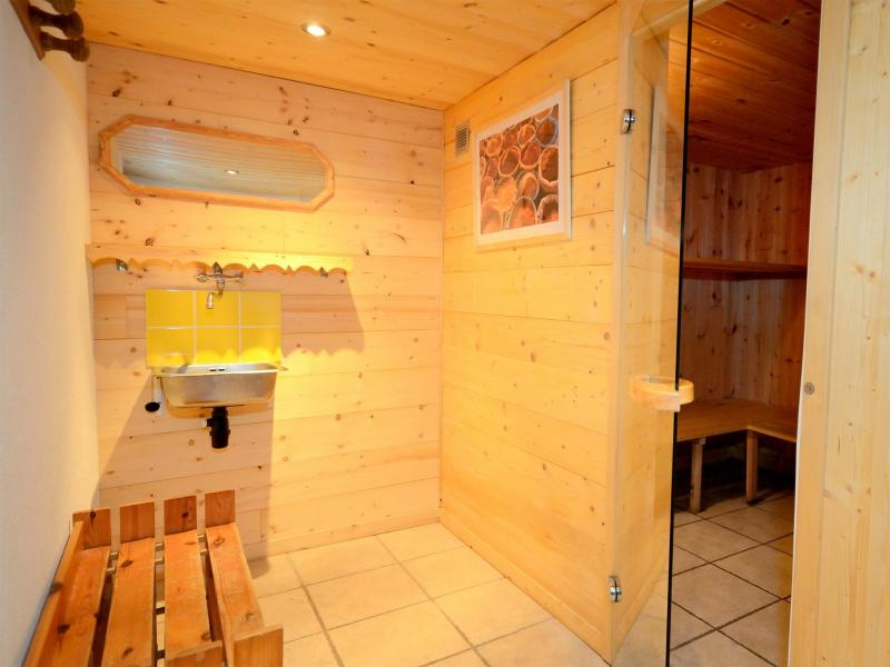 Holiday in mountain resort Chalet Carella - Champagny-en-Vanoise - Sauna