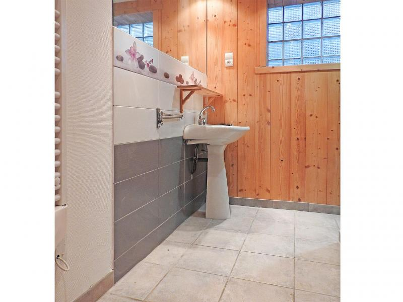 Holiday in mountain resort Chalet Carella - Champagny-en-Vanoise - Shower room