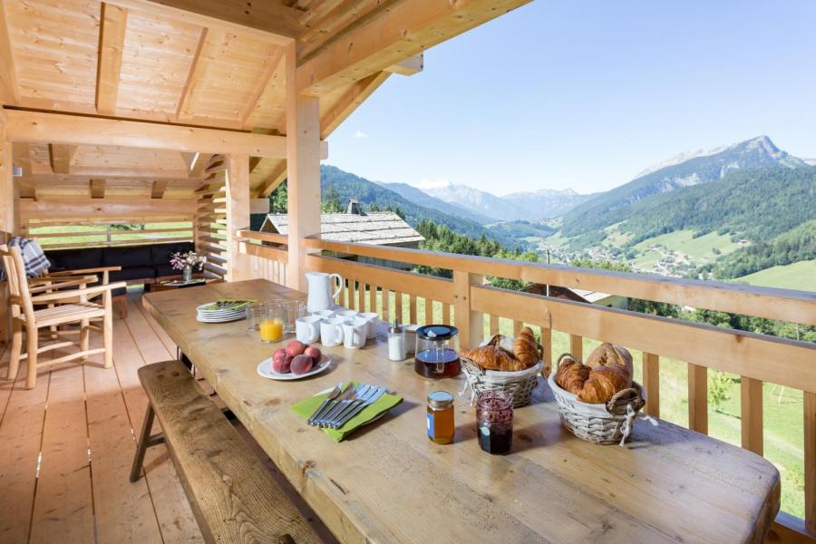 Vacaciones en montaña Chalet 6 piezas para 15 personas - Chalet Céleste - Le Grand Bornand - Verano