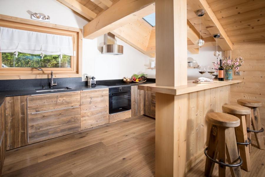 Vacances en montagne Chalet 6 pièces 15 personnes - Chalet Céleste - Le Grand Bornand - Chambre ouverte