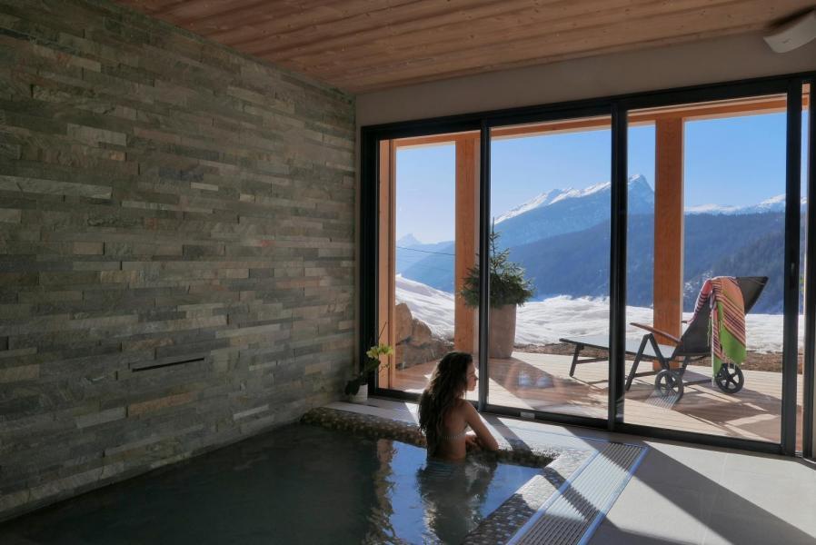 Vacaciones en montaña Chalet 6 piezas para 15 personas - Chalet Céleste - Le Grand Bornand - Jacuzzi