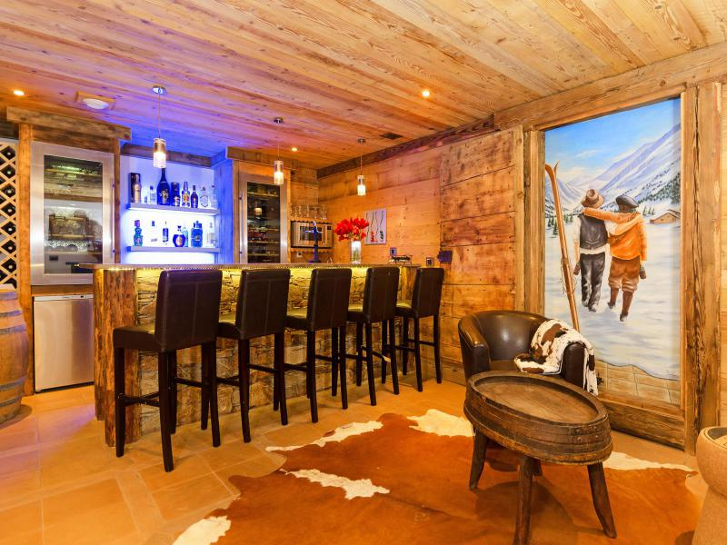 Holiday in mountain resort Chalet Champagny Cpg01 - Champagny-en-Vanoise - Bar