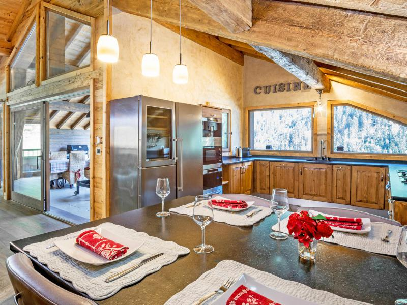 Holiday in mountain resort Chalet Champagny Cpg01 - Champagny-en-Vanoise - Kitchen