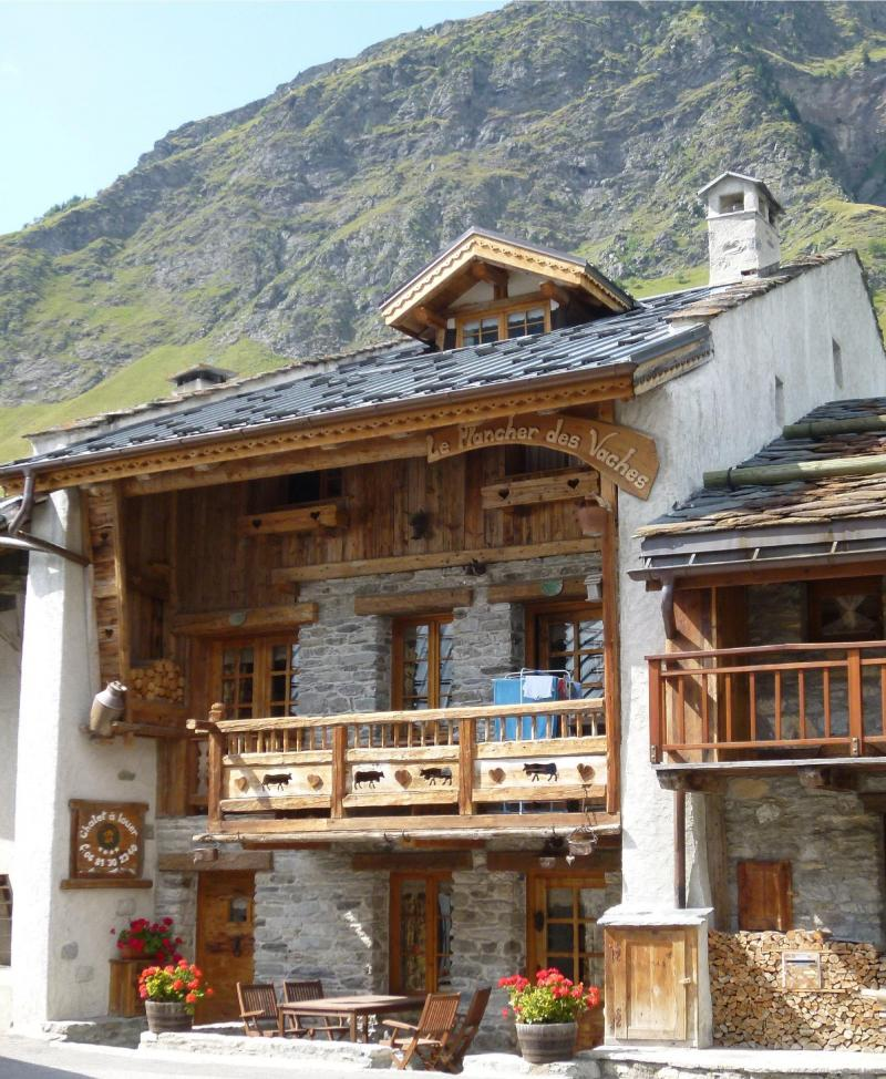 Holiday in mountain resort Chalet Champagny CPV01 - Champagny-en-Vanoise - Summer outside