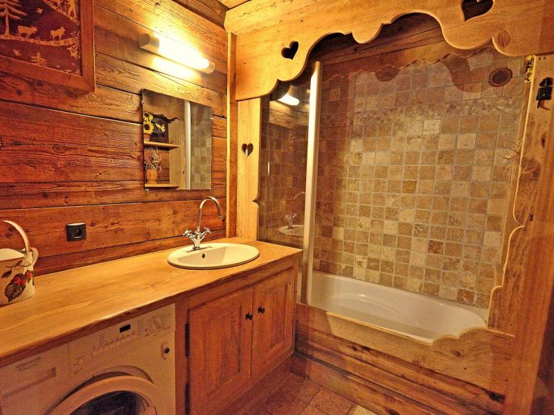 Holiday in mountain resort Chalet Champagny CPV01 - Champagny-en-Vanoise - Bath-tub
