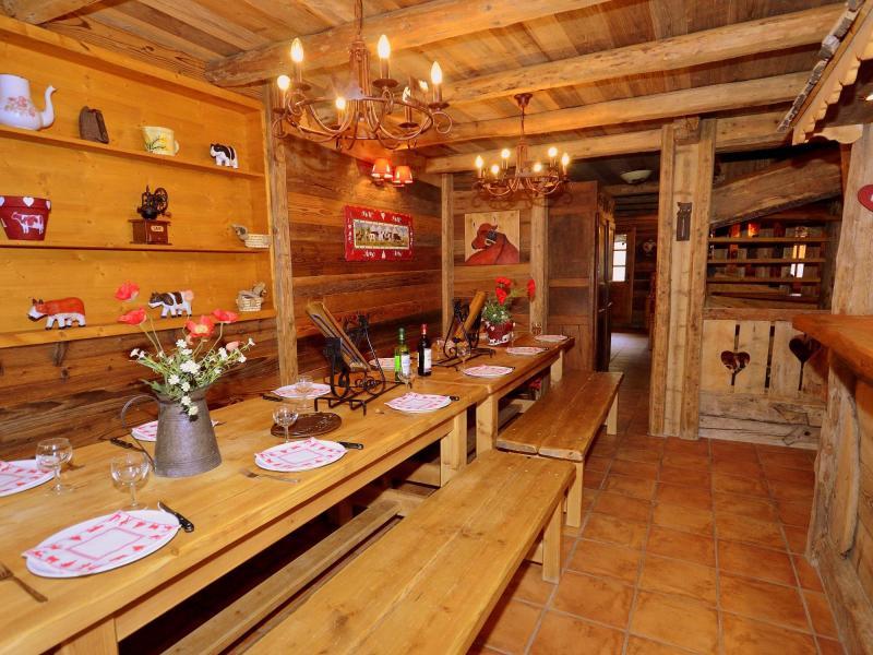 Vacaciones en montaña Chalet Champagny CPV01 - Champagny-en-Vanoise - Comedor