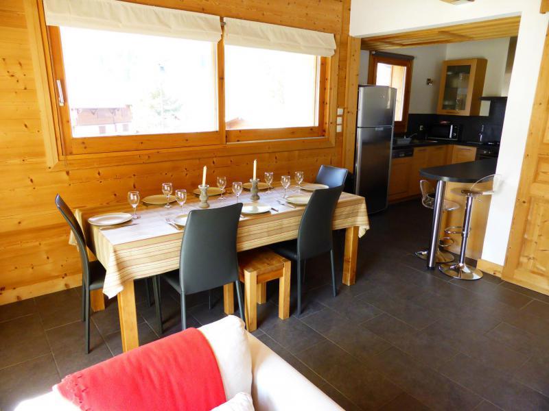 Vakantie in de bergen Chalet duplex 5 kamers 8 personen - Chalet Champelet - Les Contamines-Montjoie