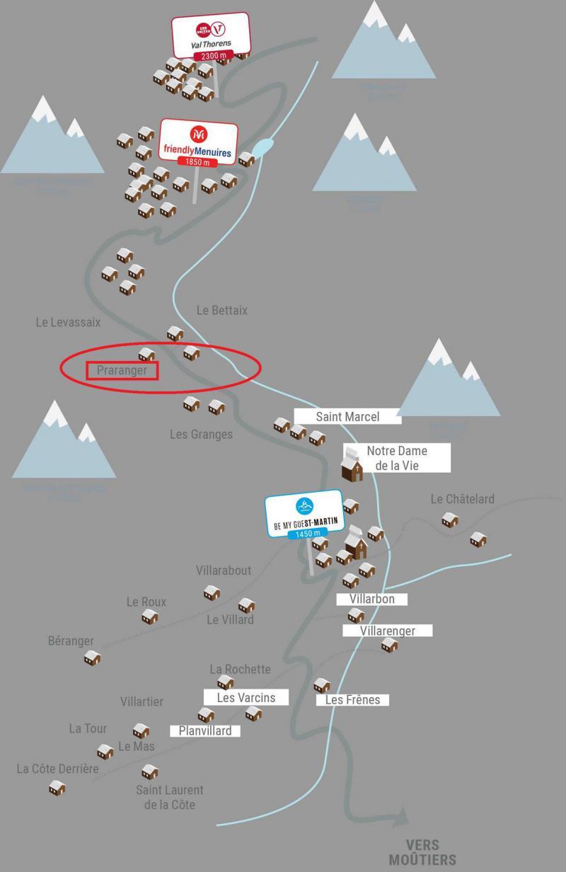 Vacaciones en montaña Chalet Charly - Les Menuires