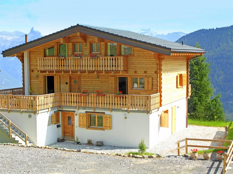 Vacanze in montagna Chalet Charmille - La Tzoumaz - Esteriore estate