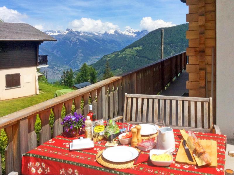 Location au ski Chalet Charmille - La Tzoumaz - Extérieur été