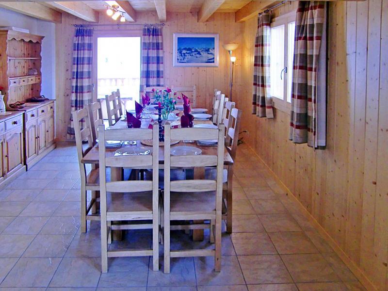 Vacances en montagne Chalet Charmille - La Tzoumaz - Table