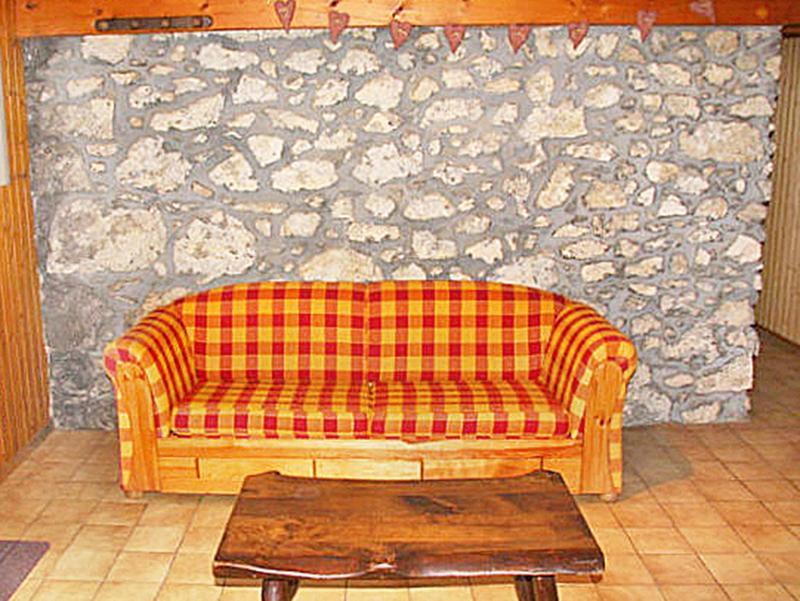 Vacaciones en montaña Chalet Châtel CBN01 - Châtel - Sofá