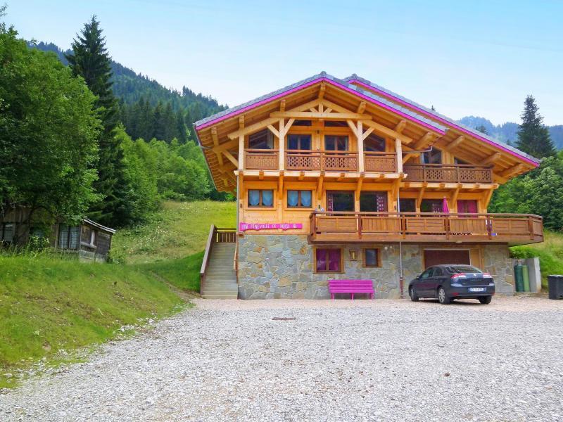Vacaciones en montaña Chalet Châtel CPN01 - Châtel - Verano