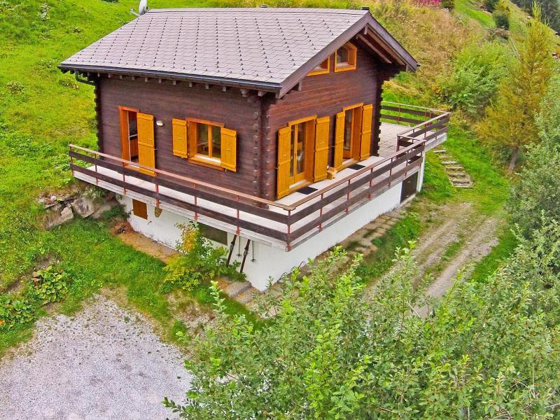 Location au ski Chalet Claire du Soleil - La Tzoumaz - Extérieur été