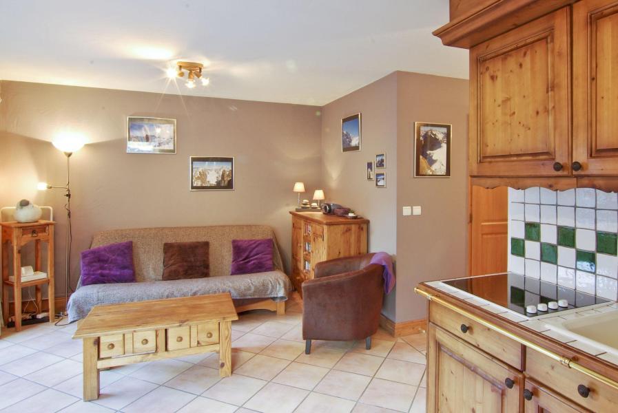 Vacances en montagne Appartement 3 pièces 6 personnes - Chalet Clos des Etoiles - Chamonix - Séjour