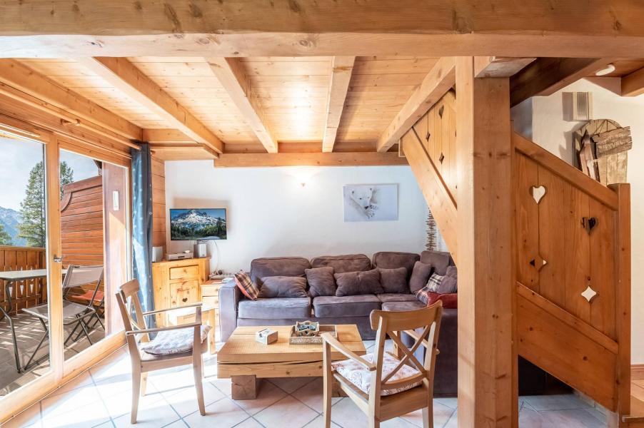 Vacances en montagne Appartement 4 pièces 8 personnes - Chalet Clos des Etoiles - Chamonix - Séjour