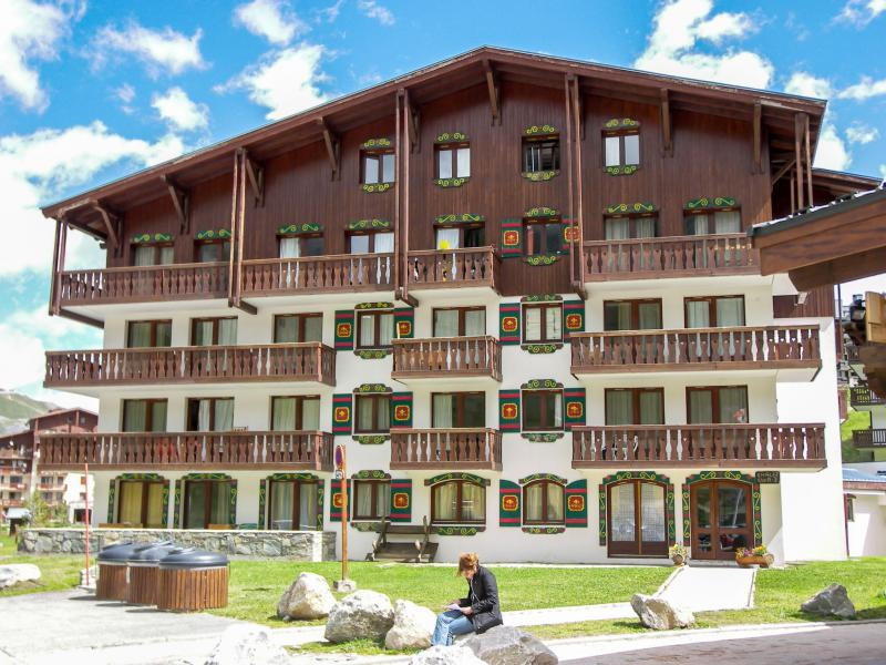 Holiday in mountain resort 1 room apartment 4 people (2) - Chalet Club - Tignes - Summer outside