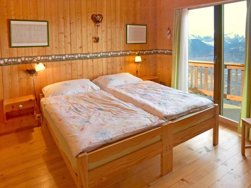 Vacaciones en montaña Chalet CNY01 - Veysonnaz - Camas twin