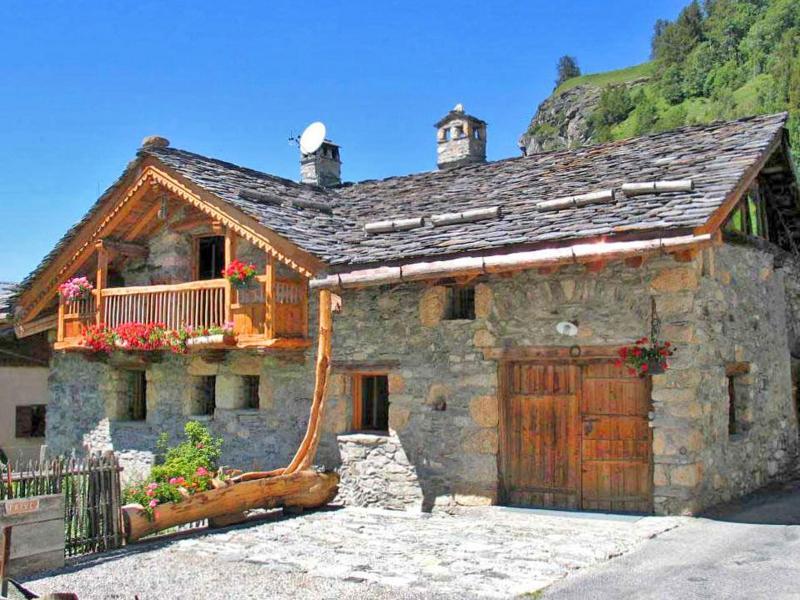 Vacances en montagne Chalet Coeur du Paradis - Peisey-Vallandry - Extérieur été