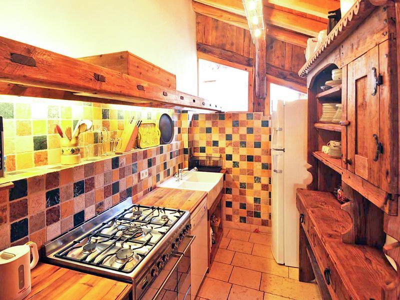 Vacances en montagne Chalet Coeur du Paradis - Peisey-Vallandry - Cuisine