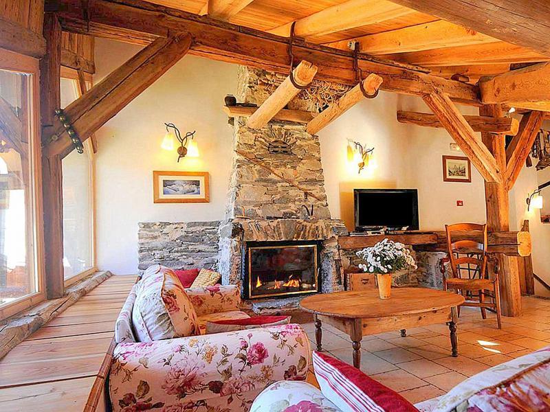 Vacanze in montagna Chalet Coeur du Paradis - Peisey-Vallandry - Soggiorno