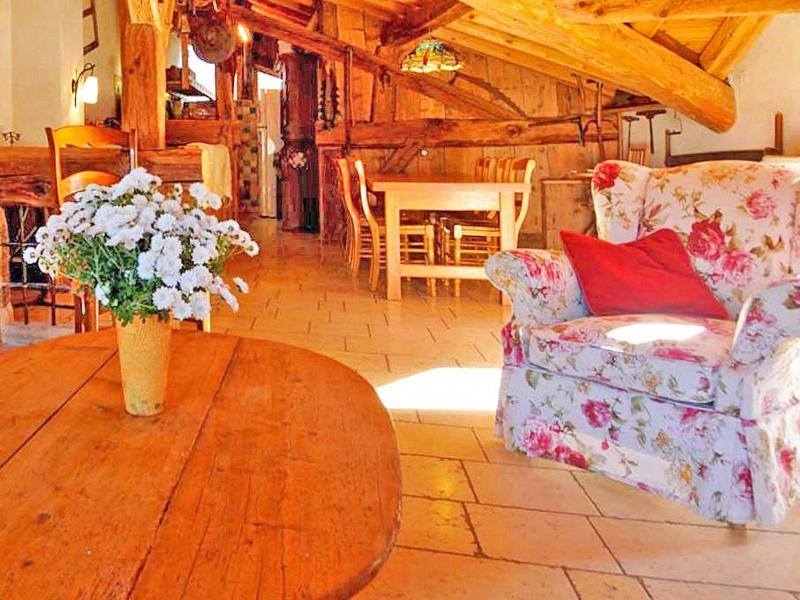 Vacances en montagne Chalet Coeur du Paradis - Peisey-Vallandry - Table