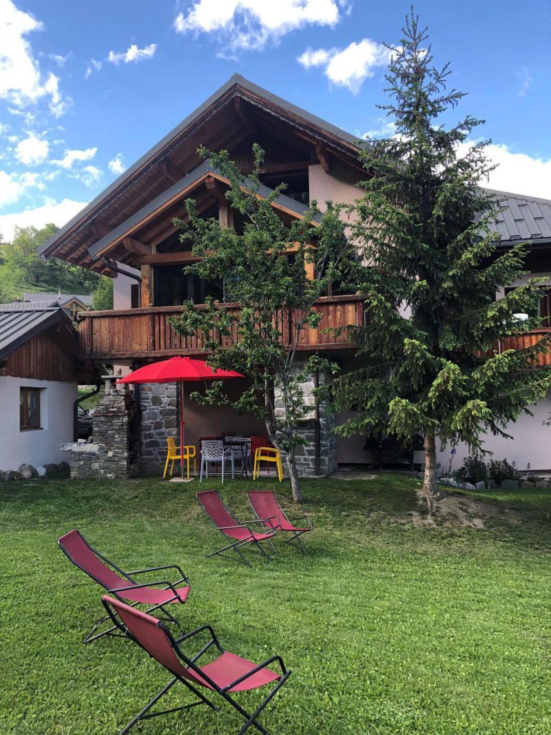 Аренда на лыжном курорте Chalet Colenfrey - Valloire - летом под открытым небом