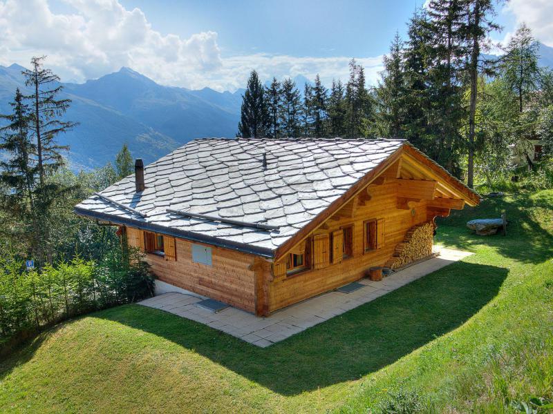 Location au ski Chalet Collons 1850 - Thyon - Extérieur été