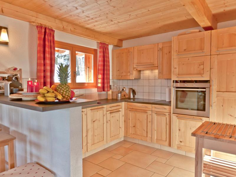 Holiday in mountain resort Chalet Collons 1850 - Thyon - Kitchen