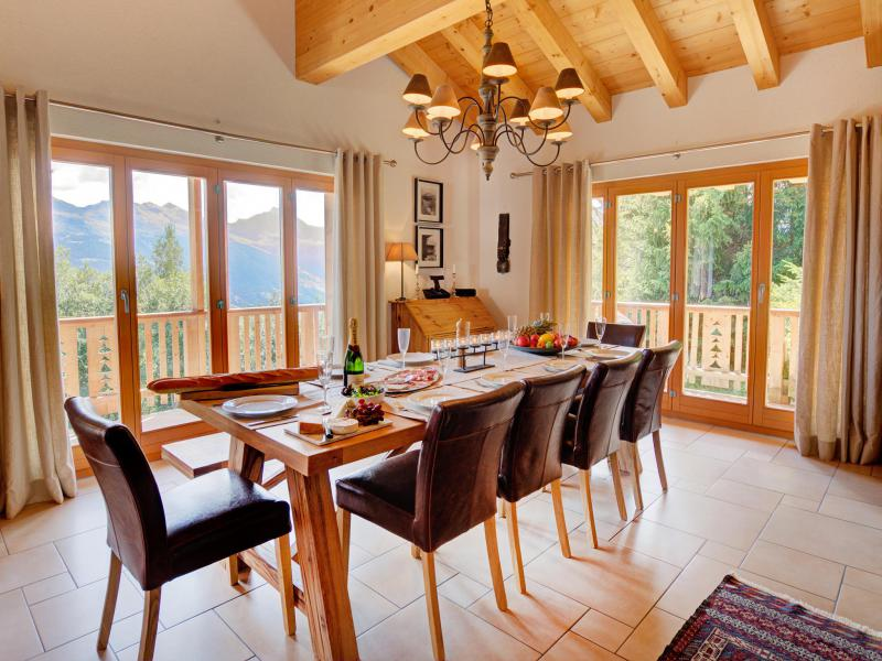 Holiday in mountain resort Chalet Collons 1850 - Thyon - Table