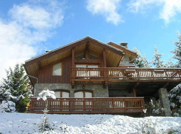 Holiday in mountain resort 6 room chalet 12 people - Chalet Cret Voland - Méribel
