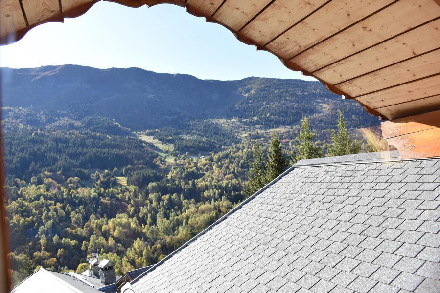 Vacances en montagne Chalet 6 pièces 12 personnes - Chalet Cret Voland - Méribel - Extérieur été