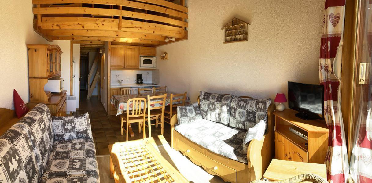 Vacaciones en montaña Apartamento 3 piezas mezzanine para 6 personas (116) - Chalet Cristal 1 - Les Saisies - Estancia