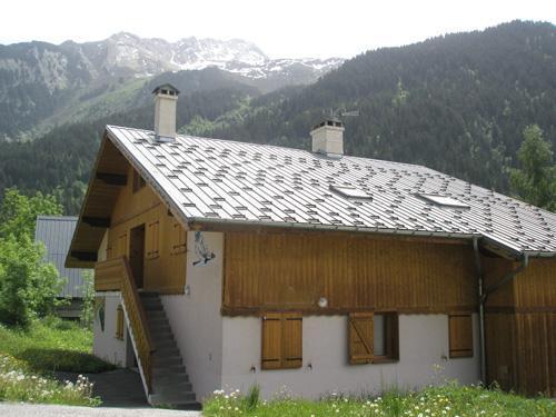 Vacances en montagne Chalet Cristal - Champagny-en-Vanoise - Extérieur été