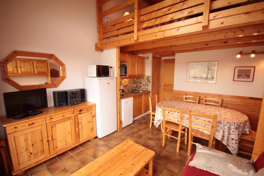 Каникулы в горах Апартаменты 2 комнат с мезонином 6 чел. (215) - Chalet Cristal 2 - Les Saisies