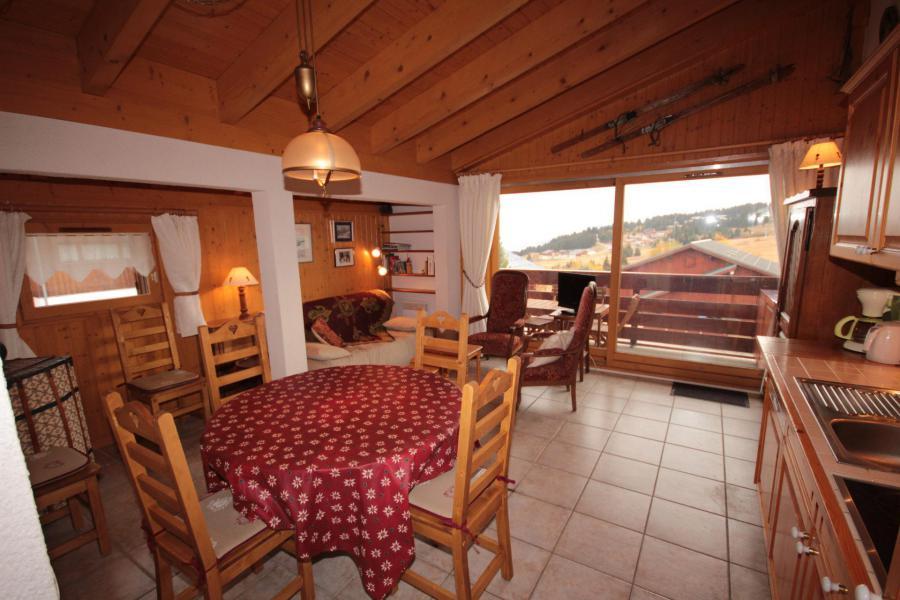 Vacaciones en montaña Apartamento 3 piezas cabina para 6 personas (615) - Chalet Cristal 6 - Les Saisies