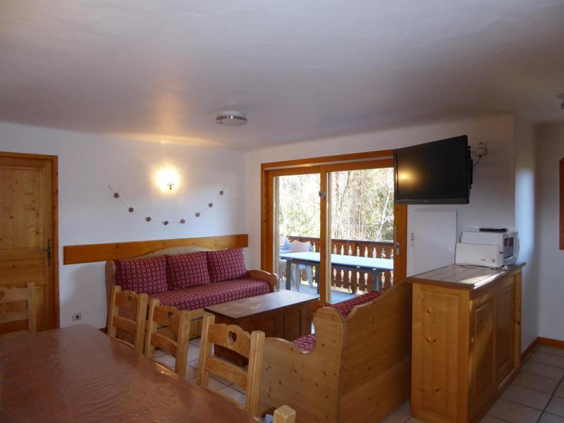 Wakacje w górach Apartament 4 pokojowy 8 osób (2) - Chalet Cristal - Champagny-en-Vanoise - Pokój gościnny