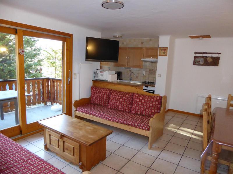 Wakacje w górach Apartament 4 pokojowy 8 osób (2) - Chalet Cristal - Champagny-en-Vanoise - Rozkładaną sofą