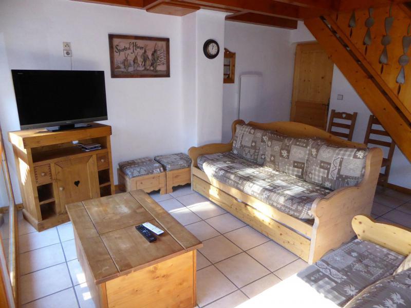 Wakacje w górach Apartament duplex 5 pokojowy 10 osób (4) - Chalet Cristal - Champagny-en-Vanoise - Rozkładaną sofą
