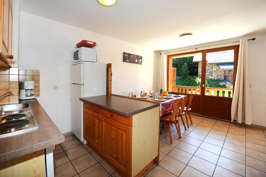 Vacances en montagne Appartement 3 pièces 6 personnes - Chalet Cristal - Les Menuires - Kitchenette