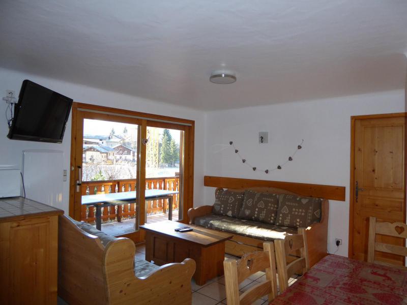 Vakantie in de bergen Appartement 4 kamers 8 personen (1) - Chalet Cristal - Champagny-en-Vanoise - Tafel