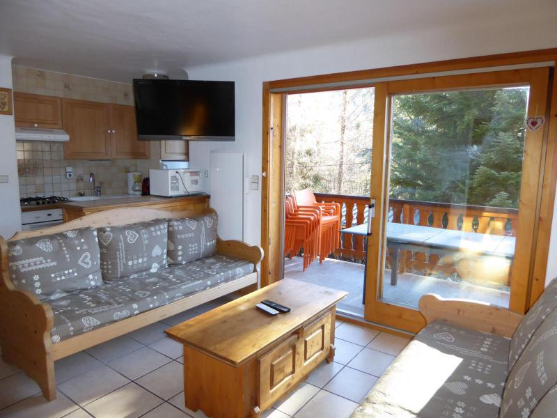 Vakantie in de bergen Appartement 4 kamers 8 personen (1) - Chalet Cristal - Champagny-en-Vanoise - Woonkamer