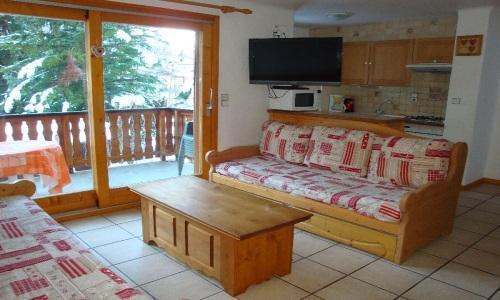Vacances en montagne Appartement 4 pièces 8 personnes - Chalet Cristal - Champagny-en-Vanoise - Séjour