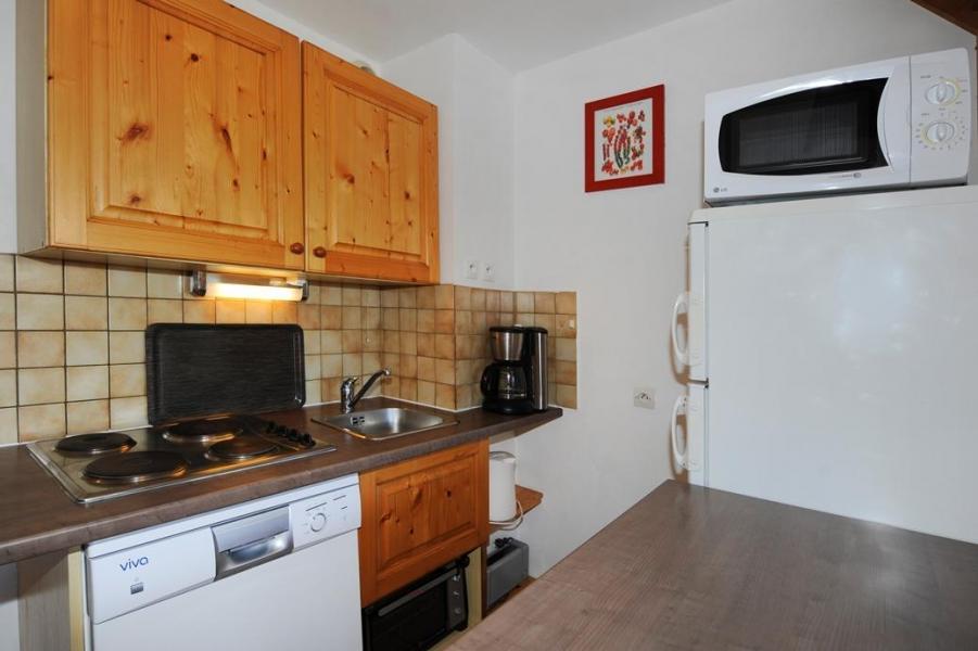Vacances en montagne Appartement duplex 4 pièces 10 personnes - Chalet Cristal - Les Menuires - Kitchenette