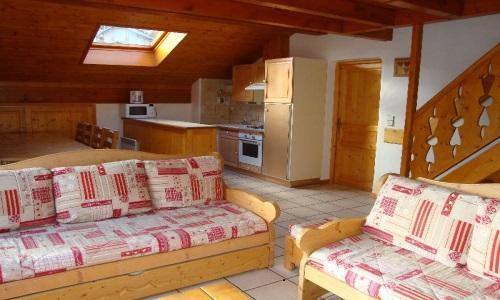 Vacances en montagne Appartement duplex 5 pièces 10 personnes - Chalet Cristal - Champagny-en-Vanoise - Banquette