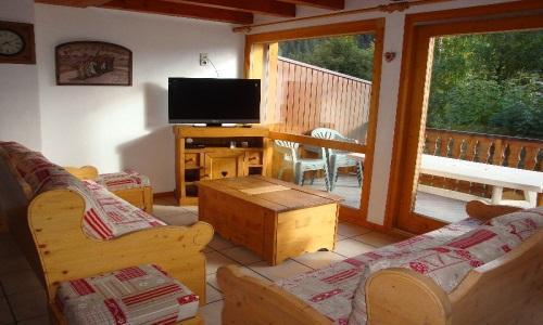 Vacances en montagne Appartement duplex 5 pièces 10 personnes - Chalet Cristal - Champagny-en-Vanoise - Séjour