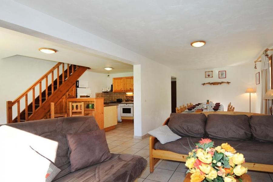 Vacances en montagne Appartement duplex 6 pièces 13 personnes - Chalet Cristal - Les Menuires - Canapé